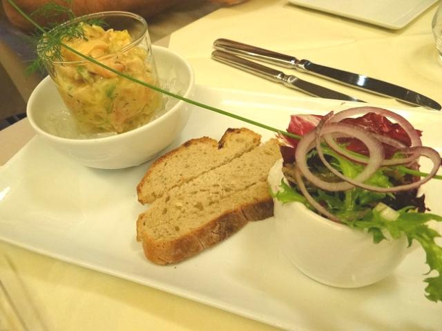 Muensterstuewel - tartare de saumon