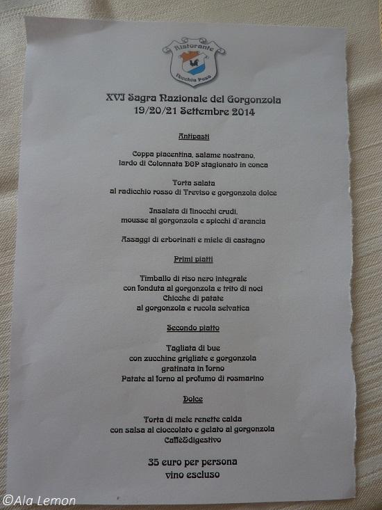 Vecchia Pesa 1 - menu