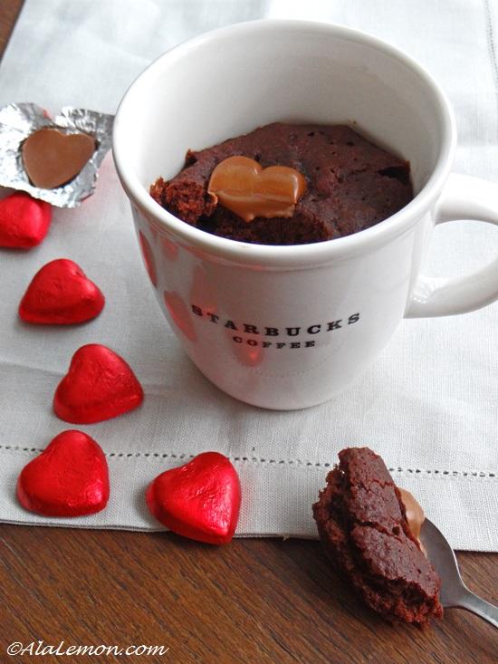 Mug Cake Chocolat Chataigne